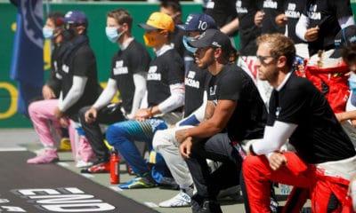 kierowcy F1 walka z rasizmem gest