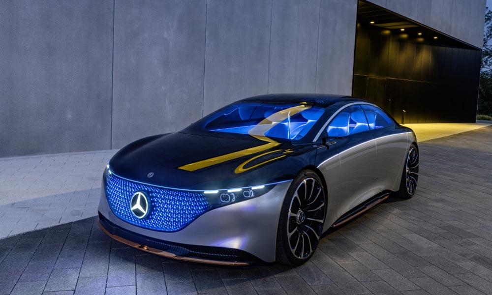 Mercedes-Benz EQS 2019 koncept
