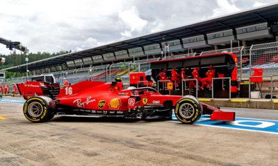 poprawki Ferrari 2020 Austria