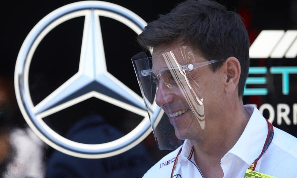 Klasyfikacja konstruktorów F1 2020 Toto Wolff Mercedes