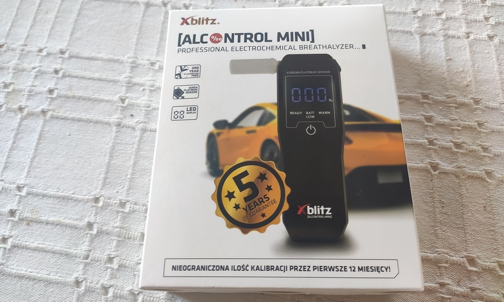 Xblitz Alcocontrol Mini
