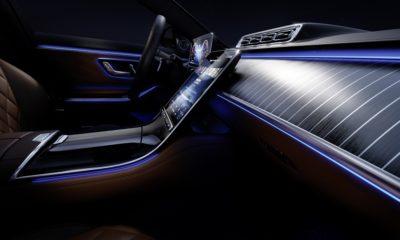 Mercedes klasy S - wnętrze
