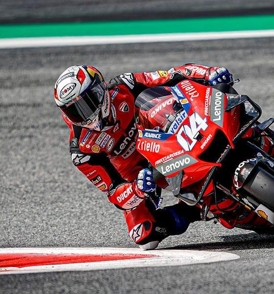 Andrea Dovizioso GP Austrii 2020 Ducati Corse MotoGP