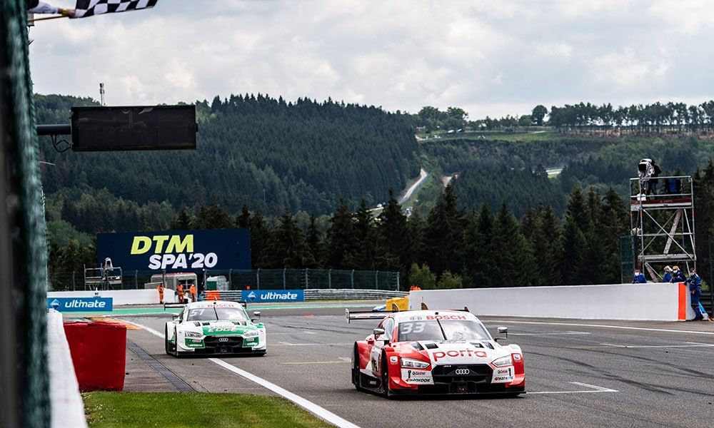 Audi Rene Rast Spa 2 DTM 2020