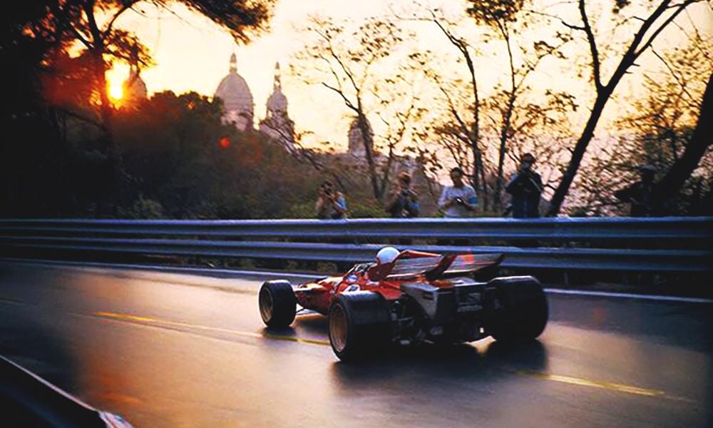 Clay Regazzoni Ferrari 1971 Montjuich Twitter F1 Sil...
