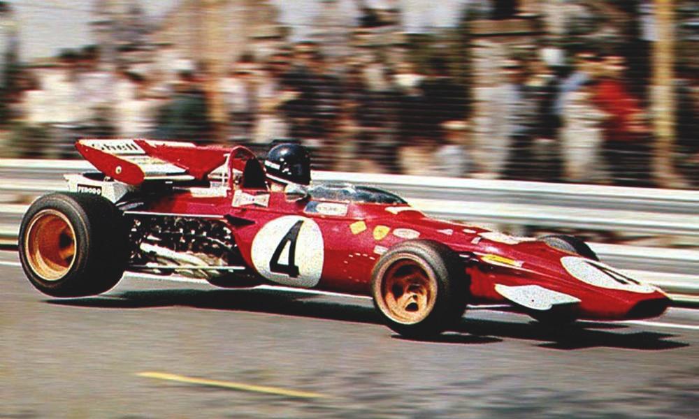 Jacky Ickx Ferrari 312B Montjuich Park 1971 Pinterest