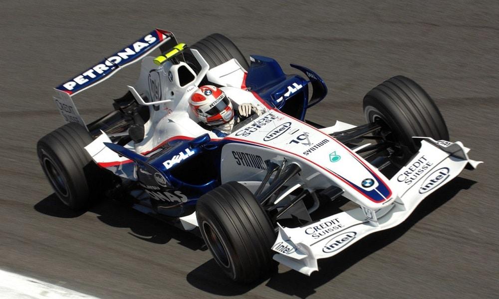 Robert Kubica 2007 testy BMW Sauber