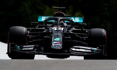 Lewis Hamilton 93 pole position gp belgii 2020