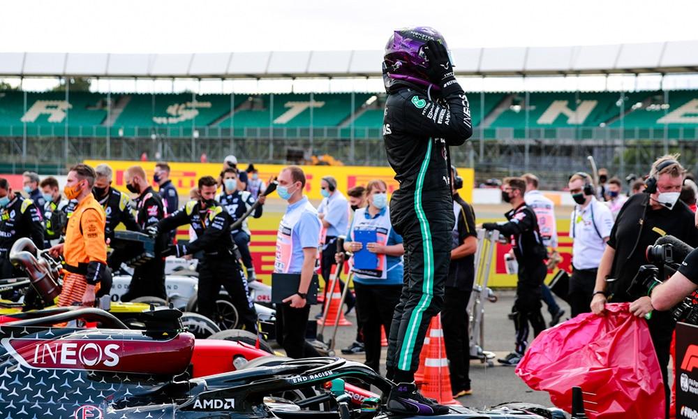 Lewis Hamilton po GP Wielkiej Brytanii 2020