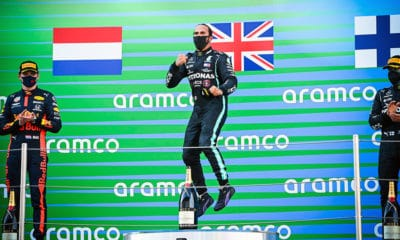 Lewis Hamilton zwycięzca GP Hiszpanii 2020 F1