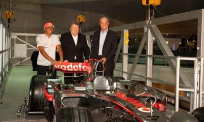 Norbert Haug 2008 McLaren Mercedes