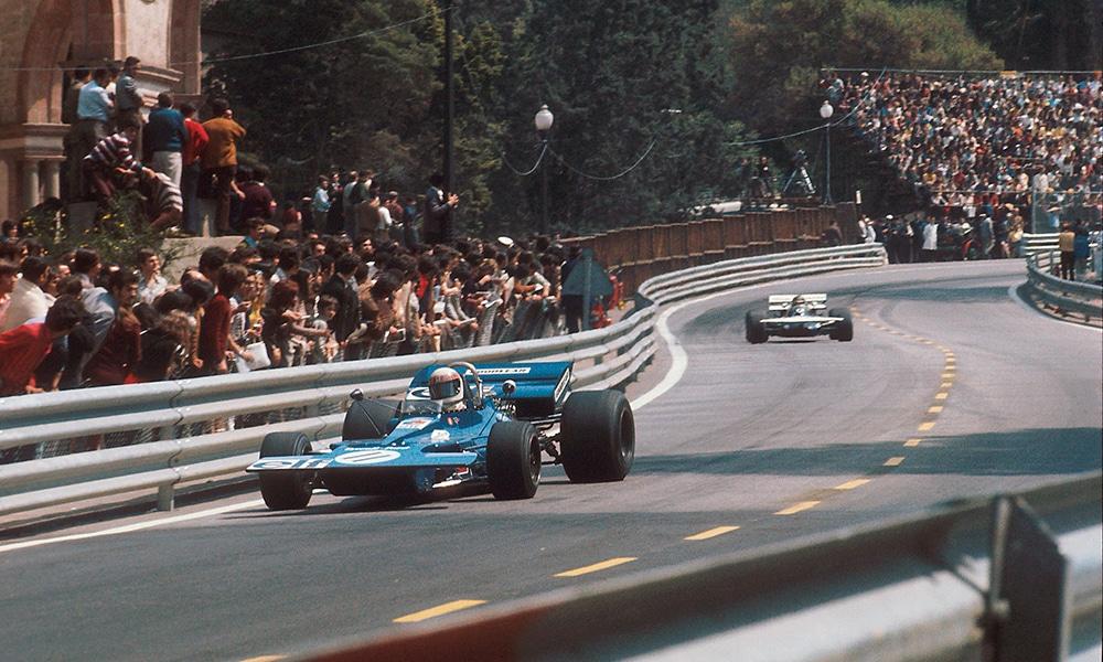 Jackie Stewart 1971 GP Hiszpanii Montjuich