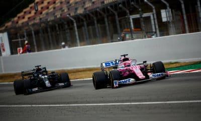 Aston Martin Racing Point i Mercedes GP Hiszpanii 2020