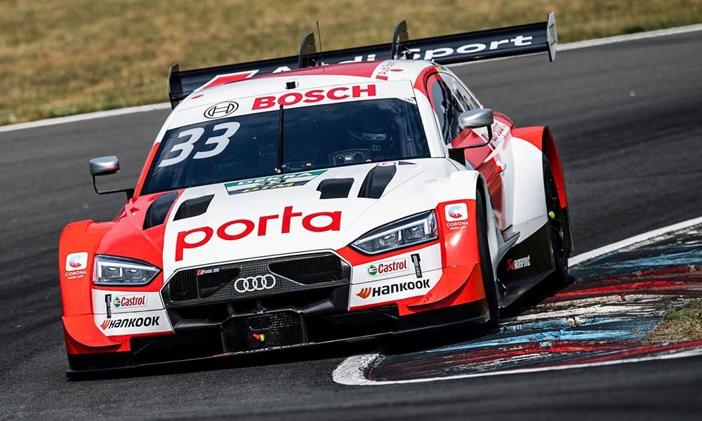 Rene Rast Lausitzring 2 2020 DTM Audi Sport