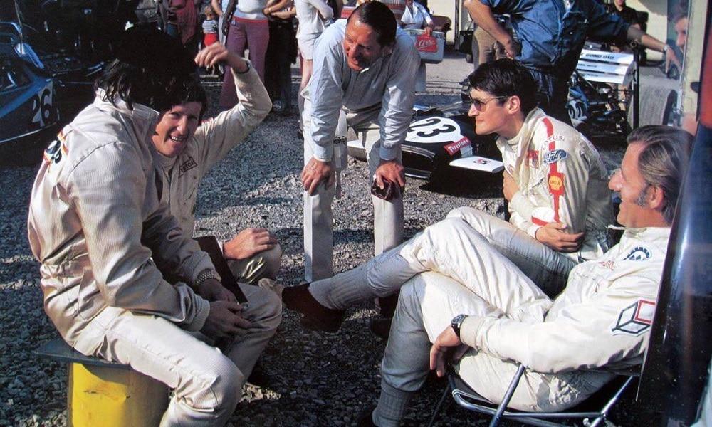 Żartowanie w padoku F1
