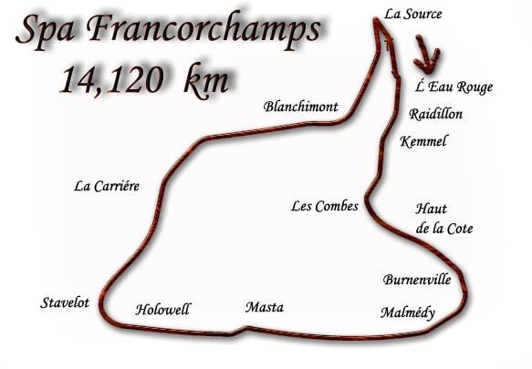 Spa 1950-1970 F1