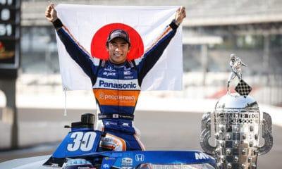 Takuma Sato po Indy 500 2020 rok