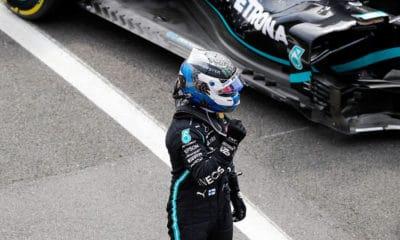 Valtteri Bottas 13 PP w karierze GP 70-lecia