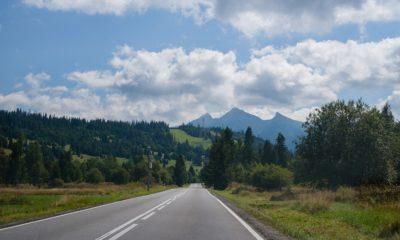 Najpiękniejsze trasy w Polsce - droga z widokiem na Tatry