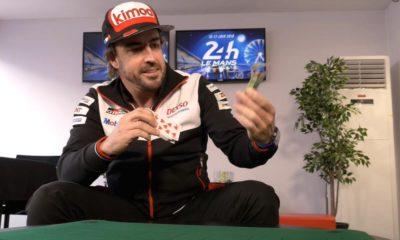 fernando alonso kierowcy znani z pokera