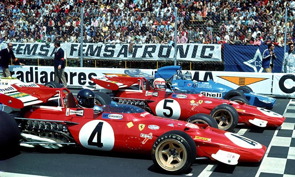 start GP Hiszpanii 1971 F1 Zivknoll Twitter