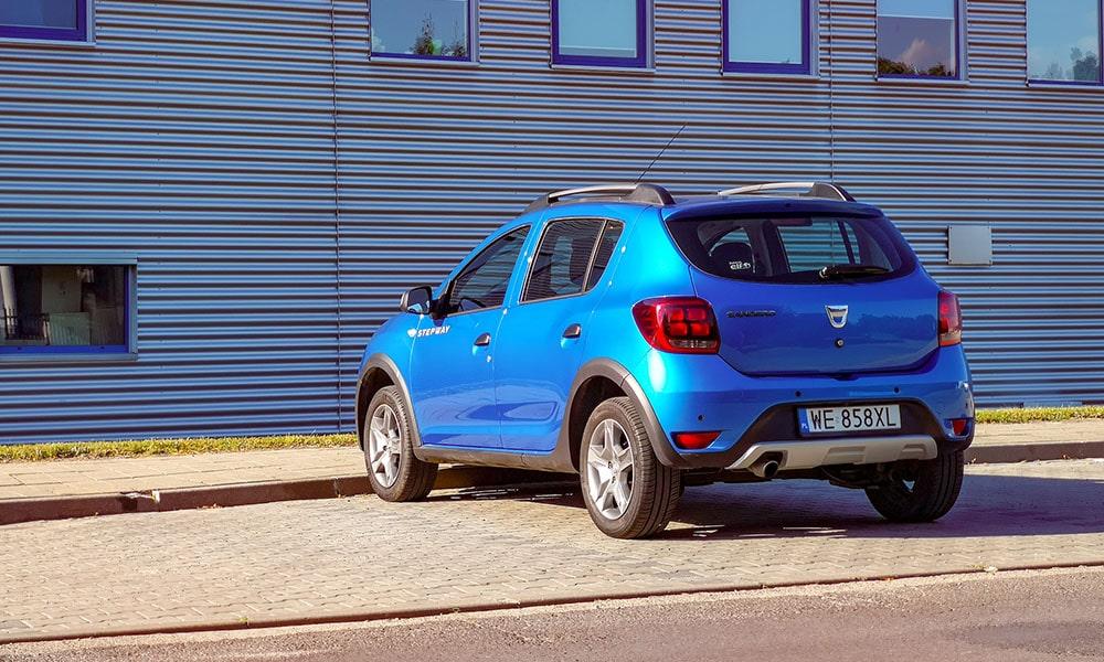 tył Dacia Sandero
