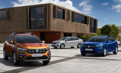 Dacia Sandero, Sandero Stepway i Logan