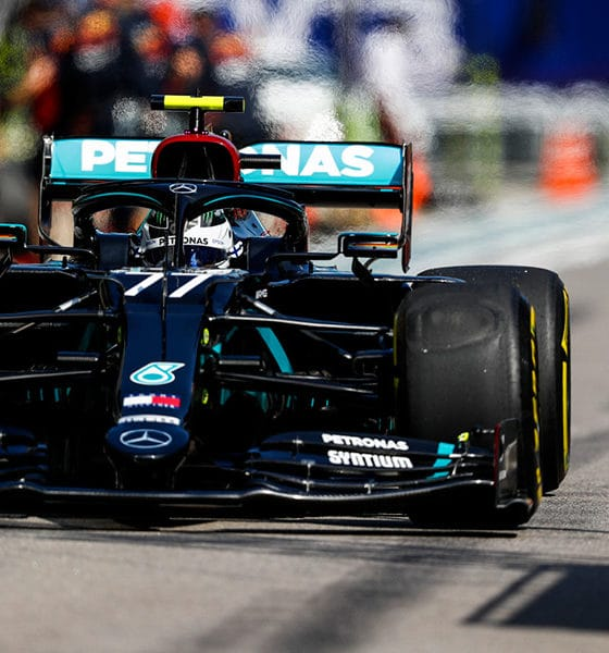 GP Rosji Valtteri Bottas 2020 Mercedes treningi
