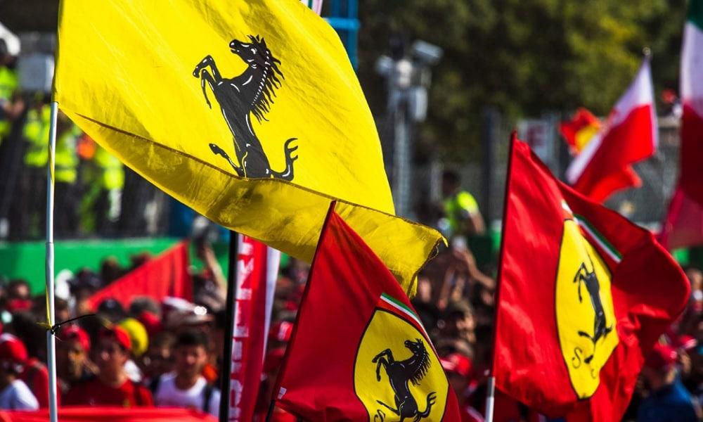 Scuderia Ferrari Tifosi 1000. GP F1