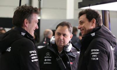 James Allison i Toto Wolff Mercedes F1