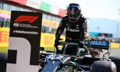 Lewis Hamilton GP Toskanii kwalifikacje Mercedes PP