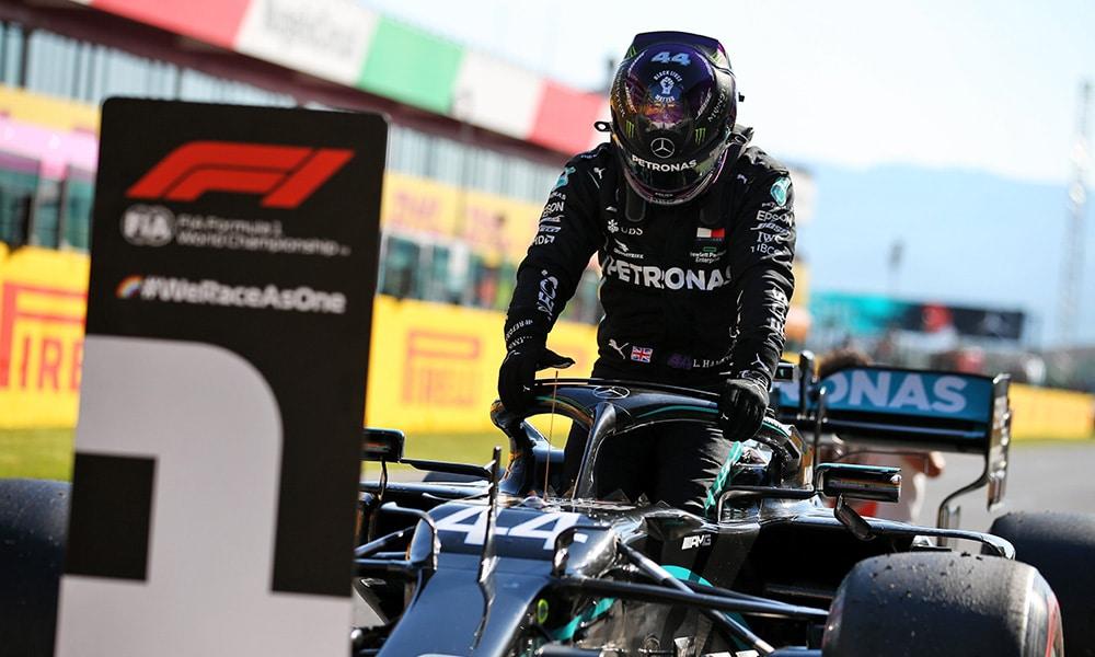 plotki Hamilton w Ferrari Lewis Hamilton GP Toskanii kwalifikacje Mercedes PP