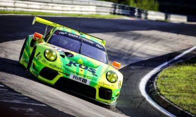 24h Nürburgring problemy Porsche