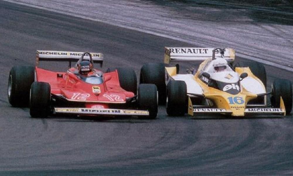 Wspaniała walka pomiędzy Arnouxem a Villeneuvem