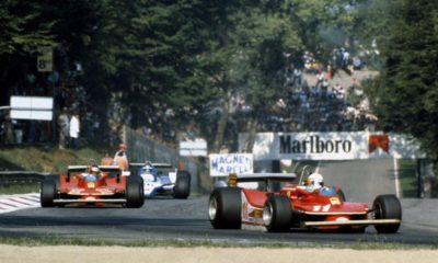 Scheckter prowadzi w wyścigu Monza 1979