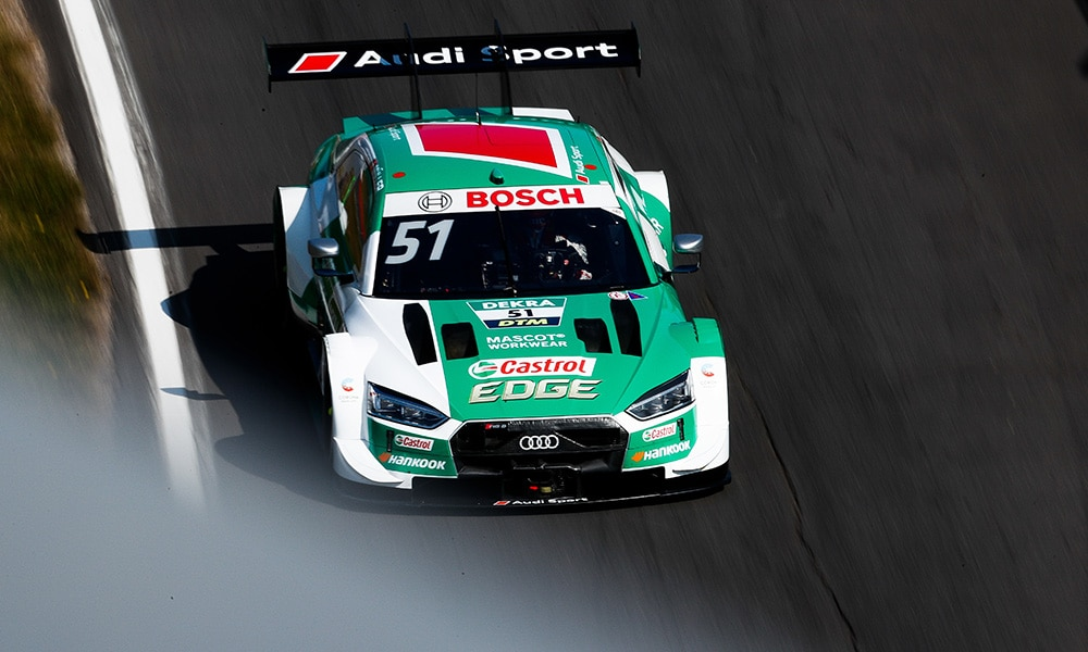 Müller Nico Audi Sport ABT Sportsline 2020 Nurburgring Sprint 2 triumf