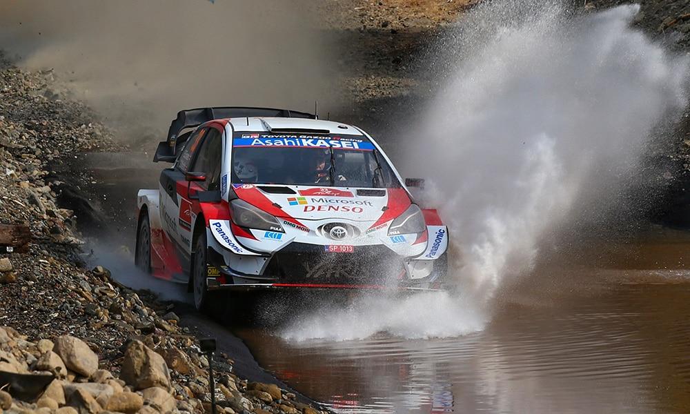 Rajd Turcji 2020 WRC Elfyn Evans Toyota