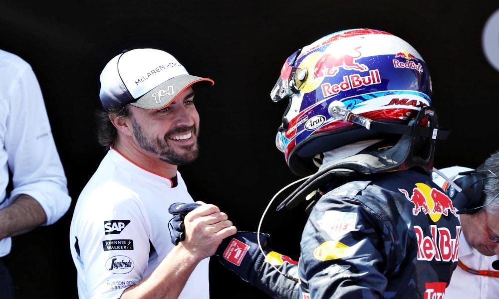 Grand Prix Hiszpanii 2016, Fernando Alonso, Max Verstappen