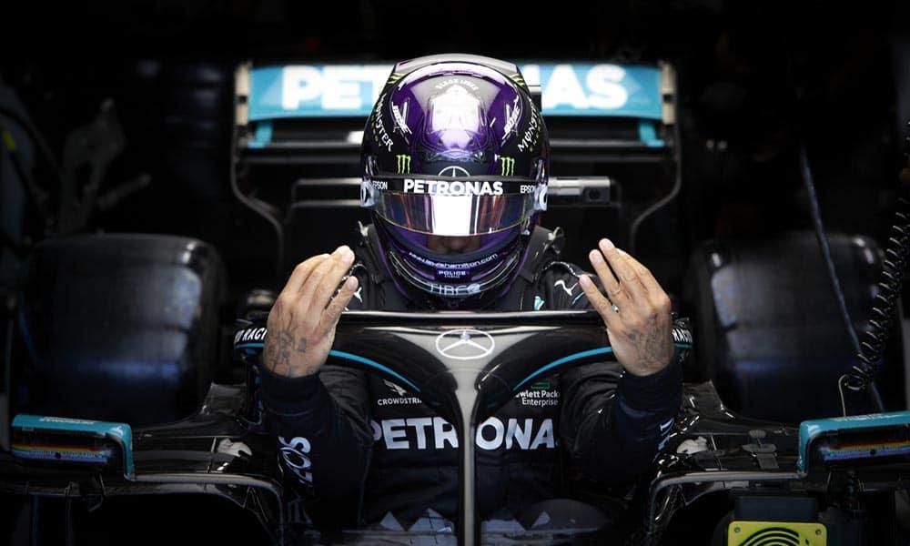 kontakt Hamiltona 2021 F1