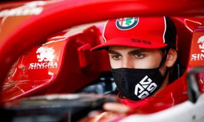 Antonio Giovinazzi 2020 Hungarian Grand Prix Thursday