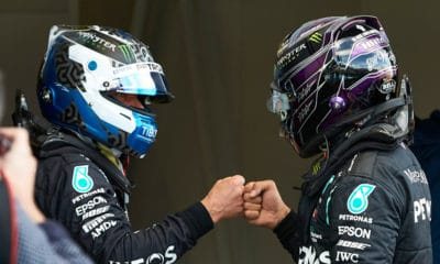 Bottas i Hamilton Mercedes GP Eifel 2020