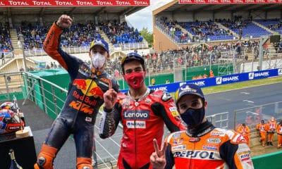 Danilo Petrucci Le Mans MotoGP 2020 triumf