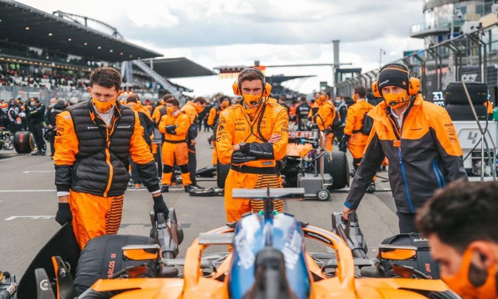 McLaren Team Crew Nurburgring 2020 Eifel GP