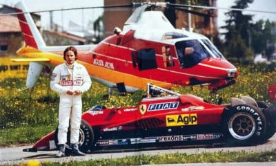 Gilles Villeneuve Ferrari legendy motorsportu