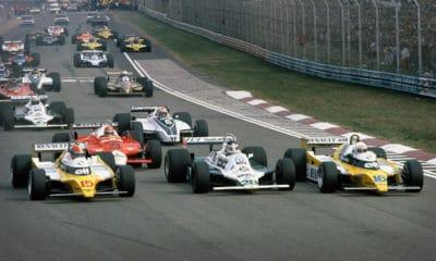 Imola 1980 F1 Twitter start wyścigu 1