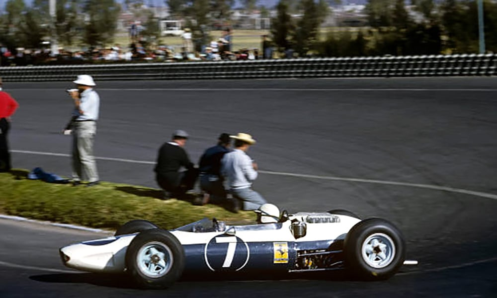 John Surtess NART Ferrari 158 Sharknose Meksyk 1964