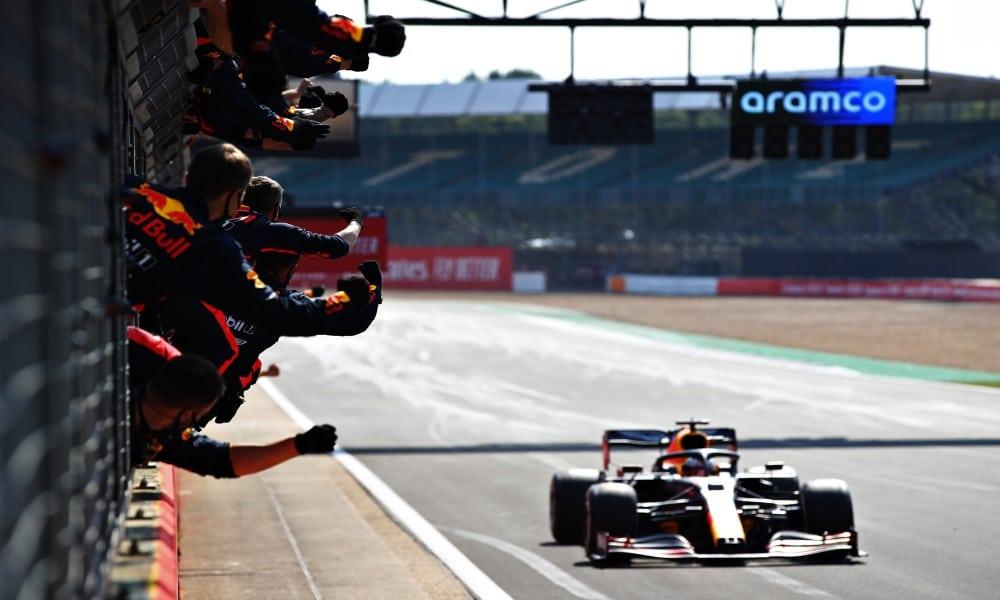 Max Verstappen wins 70th Anniversary GP 2020
