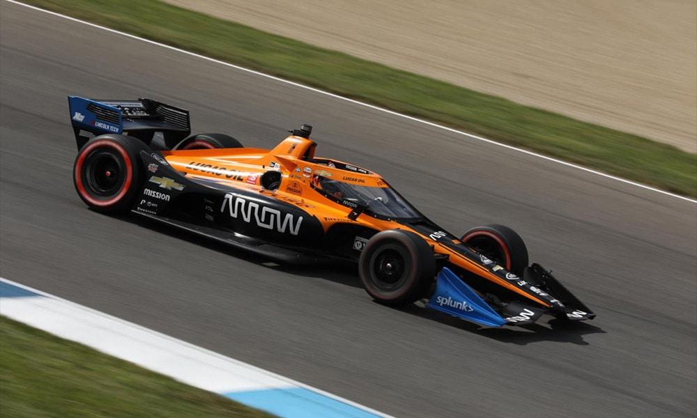 McLaren IndyCar słaby Helio Castroneves