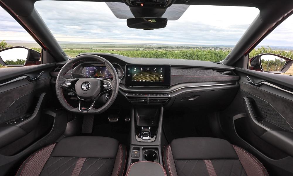 Octavia RS - wnętrze