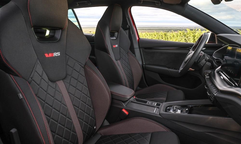 Octavia RS - fotele
